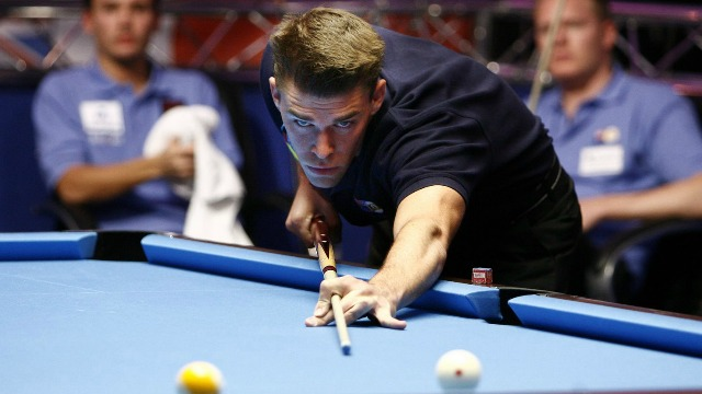 Pool star Corey Deuel (pictured) is determined to learn and have fun playing in his first United States National Snooker Championship - Photo courtesy of Matchroom Sport