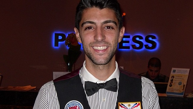 Number one seed for the 2014 United States National Snooker Championship, Sargon Isaac - Photo © SnookerUSA.com
