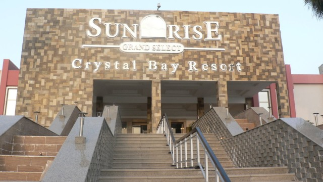 The Sunrise Grand Select Crystal Bay in Hurghada - Photo courtesy of Sunrise Grand Select Crystal Bay Resort