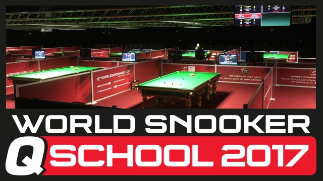 2017 World Snooker Q School. Guild Hall, Preston, England. May 9-20