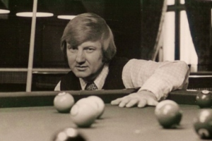 Tom Kollins pictured at the Detroit Athletic Club in 1973